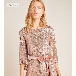 Beautiful Sequin Dress - Anthropologie